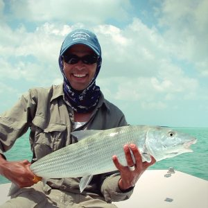 Davin Ebanks 10 pound bonefish